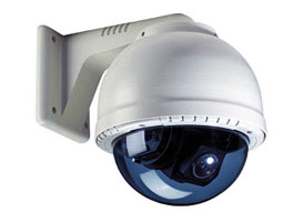 "EPC-400 - 10"" Heavy Duty Vandalproof PTZ Color Smog Dome Cam w/ x27 Optical + x270 Digital Zoom - YPZ-1500MBH-2700DN"