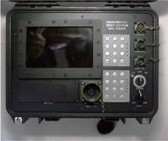 Mil Spec 1000ft Depth Rate Deep Ocean Video System --- click to enlarge ---