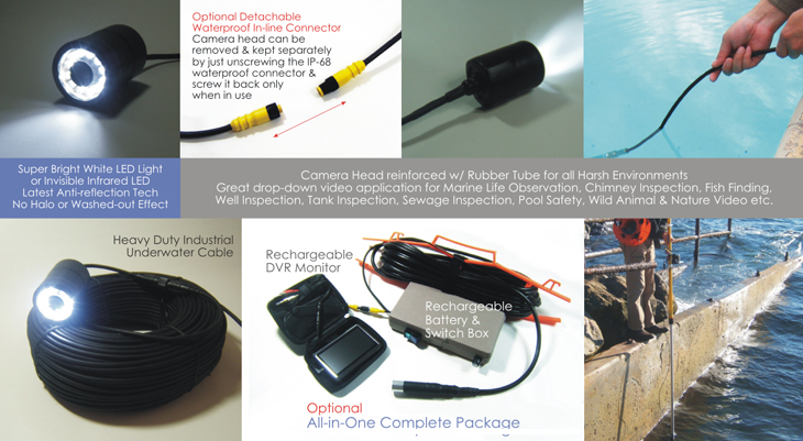 HD Underwater Inspection Camera --- click to enlarge ---